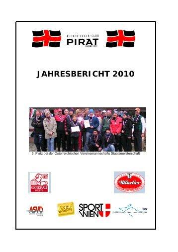 JAHRESBERICHT 2010 - WRC-Pirat