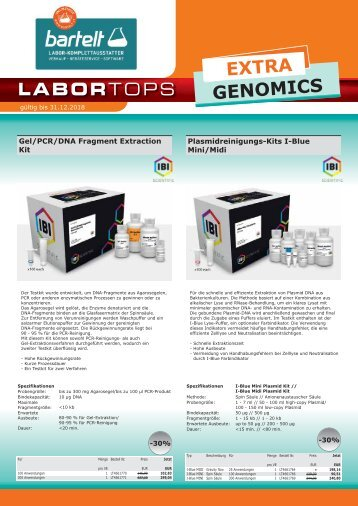 IBI Scientific Genomics
