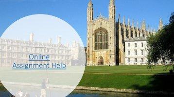 Online Assignment Help, Assignment Help Services