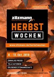 Zitzmann Herbstwochen