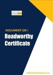 Why Having Roadworthy Certificate is Essential?