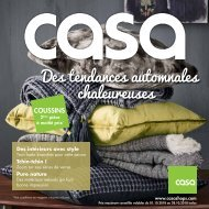 Casa catalogue 1 octobre-28 octobre 2018