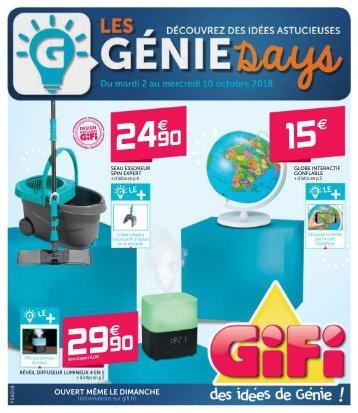 GiFi catalogue 2 octobre-10 octobre 2018