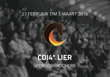 Sponsorbrochure CDI Lier - 2019 - Nederlands