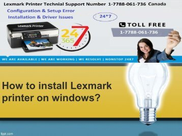 How to install Lexmark printer on windows-converted
