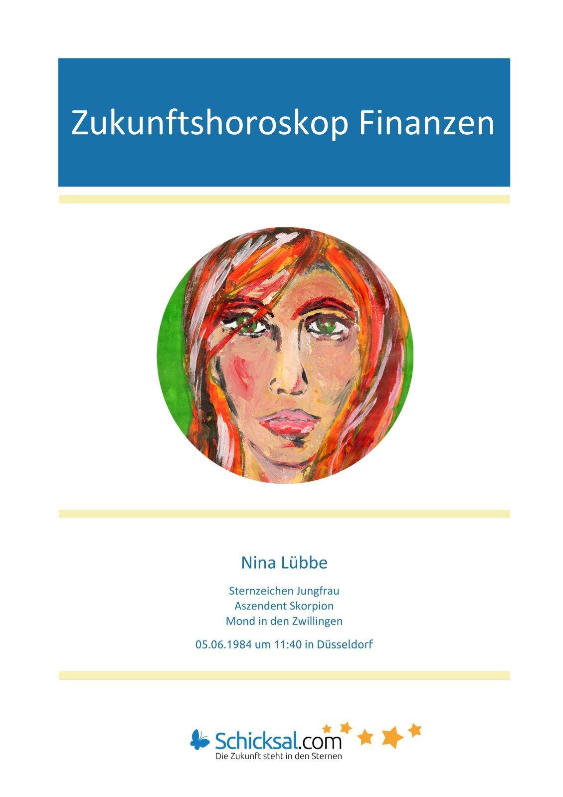 Zukunftshoroskop Finanzen Nina