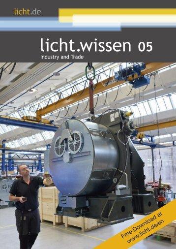 """licht.wissen No. 05 """"Industry and Trade"""""""