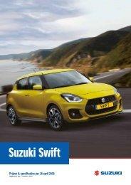 Suzuki Prijslijst Suzuki Swift (nedc)