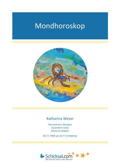 Mondhoroskop Katharina
