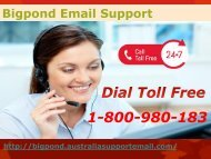 Bigpond Email Support 1-800-980-183| Short Out Login Error