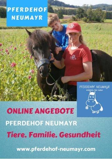 Online Angebote am Pferdehof Neumayr - ONLINE BUCHEN!
