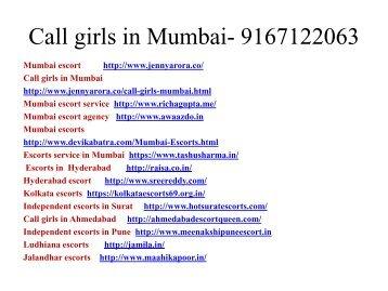 Mumbai escort service - 9167122063