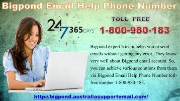 Setup Account Via Bigpond Email Help Phone Number 1-800-980-183
