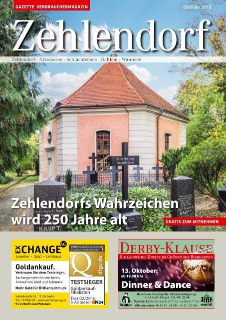 Gazette Zehlendorf Oktober 2018