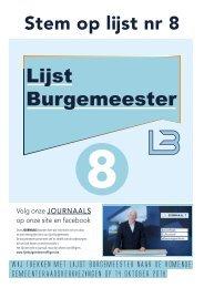 Lijst Burgemeester Affligem Gazet 5
