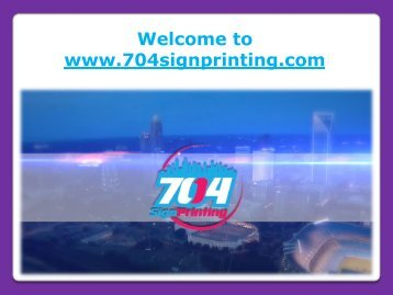 Full-Color Printing Services Charlotte NC