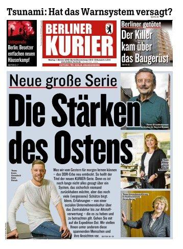 Berliner Kurier 01.10.2018