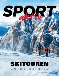 SPORTaktiv Skitourenguide 2018