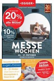 Messewochen - Möbel EGGER