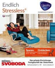 Endlich Stressless - Herbst 2018 - Möbel SVOBODA