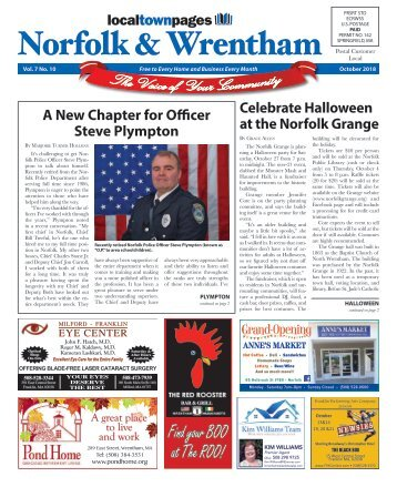 Norfolk & Wrentham fOctober 2018