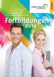Fortbildungskatalog Hamburg 2019 - Döpfer Akademie