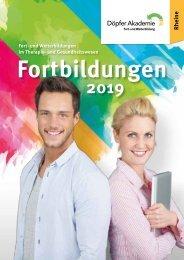 Fortbildungskatalog Rheine 2019 - Döpfer Akademie