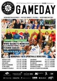 WWU Baskets Gameday #13 2018_19