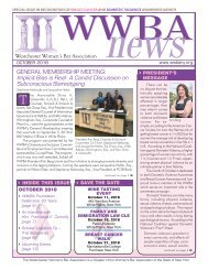 WWBA October 2018 Newsletter - M