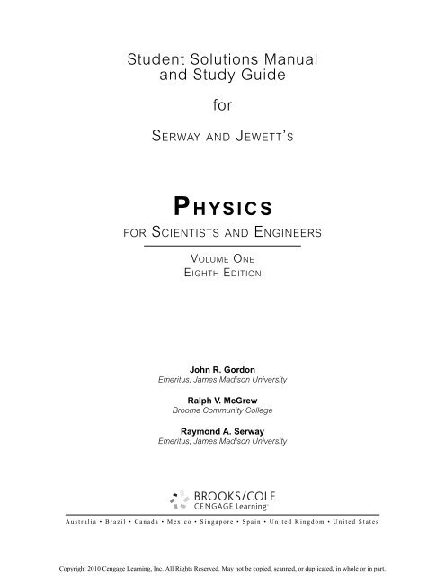 bol.com | Physics for Scientists & Engineers with Modern ...