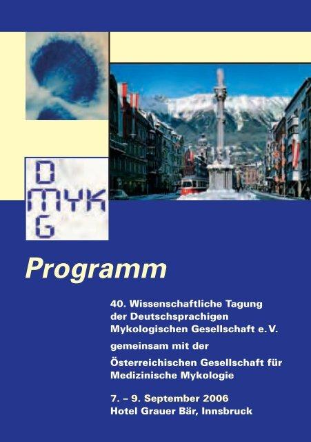 Programm - Deutschsprachige Mykologische Gesellschaft eV