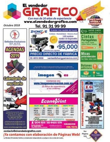 Revista El Vendedor Gráfico Octubre 2018
