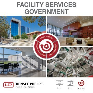 Hensel Phelps Services - Government Digital Brochure