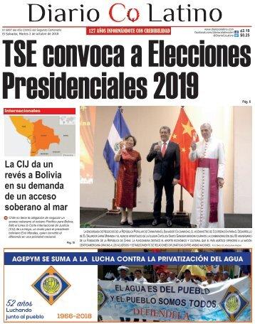 Edición 02 de octubre de 2018