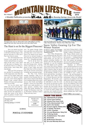 Oct2018-Mountain Lifestyle-Running Springs edition