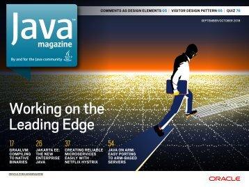 Java Magazine SeptemberOctober 2018