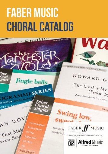 Choral Catalog USA Edition