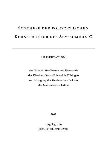 1 Einleitung - TOBIAS-lib - Universität Tübingen