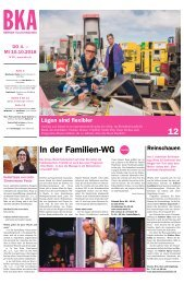 Berner Kulturagenda N°39