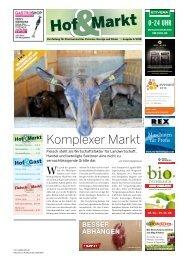 Hof & Markt | Fleisch & Markt | Hof & Gast  06/2018