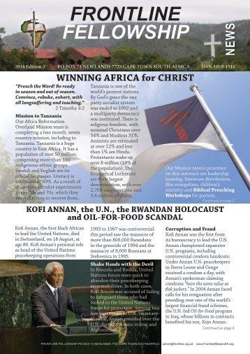 Frontline Fellowship News - Edition 3 of 2018