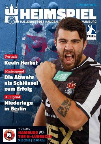 Hallenheft | Handball Sport Verein Hamburg vs. TuS N-Lübbecke