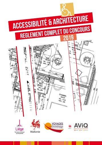 Concours Accessibilité 2019 - Règlement