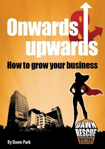 Onwards and upwards e-book
