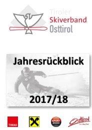 Jahresrückblick Saison 2017-18