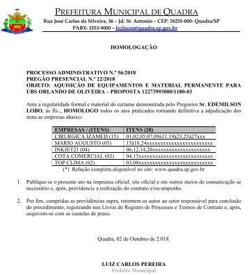 PM_QUADRA_SP_PP_22_02102018_HOMOLOGAÇÃO_