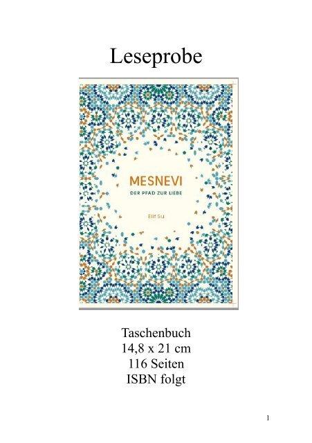 """Leseprobe """"Mesnevi: Der Pfad zur Liebe"""" von Elif Su"""