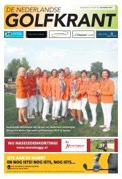 De Nederlandse Golfkrant oktober 2018