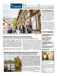 Hallesche Immobilienzeitung Ausgabe 77 Oktober 2018