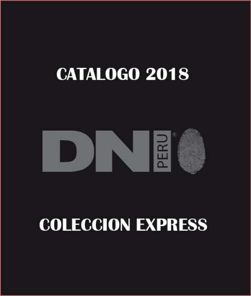 CATALOGO EXPRESS 2018